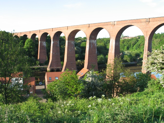 Abandoned Railway Viaduct over the River Esk at Whitby