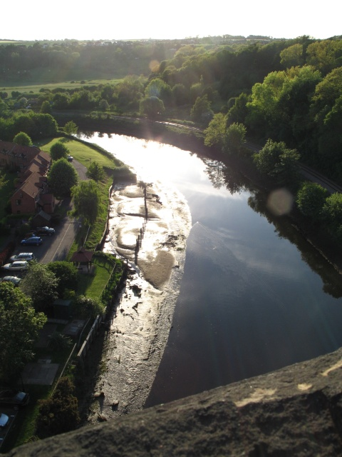 River Esk from Larpool Viaduct