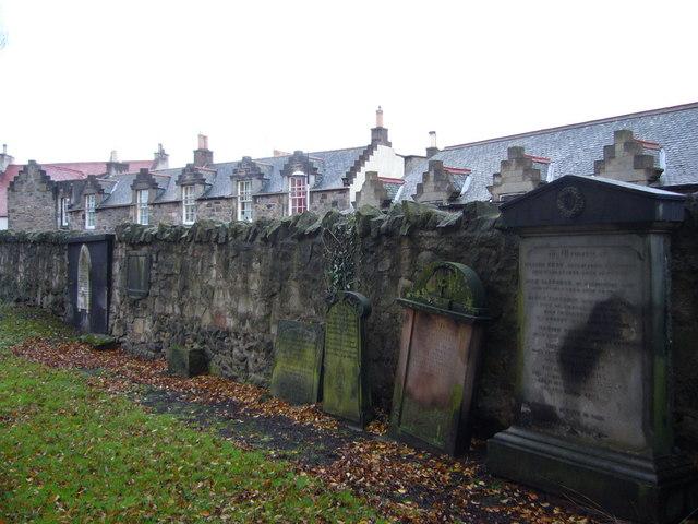 Tombstones in Restalrig Kirkyard
