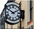 J3652 : Clock, Ballynahinch (1) by Albert Bridge