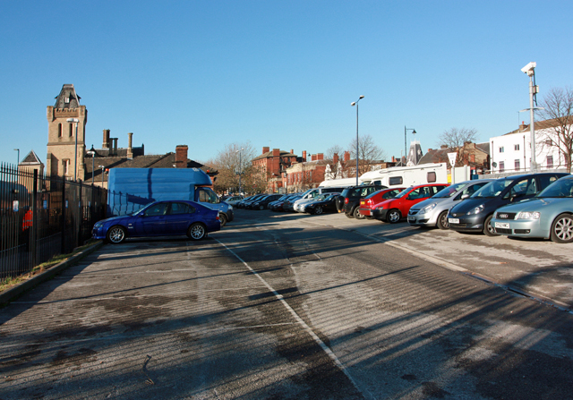 Railway station car park, Lincoln