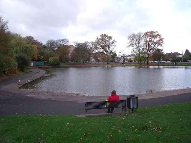 Lake in Queens Park