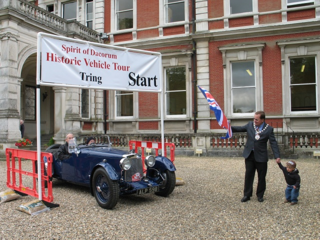 Classic Car Rally, Tring Park