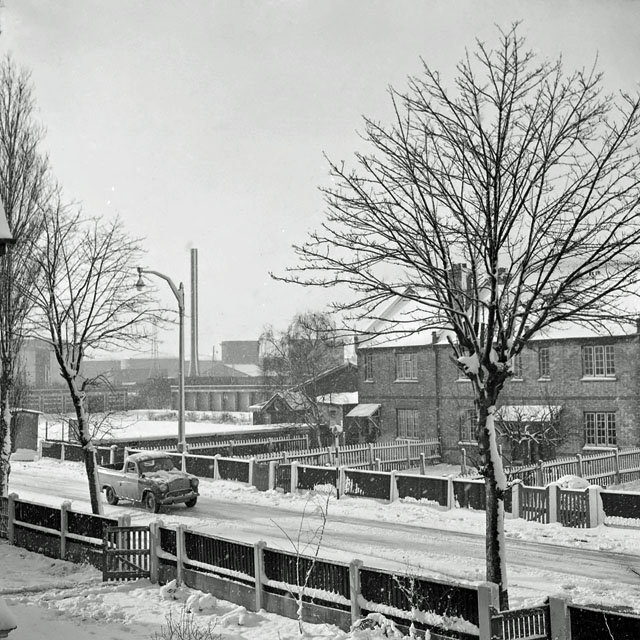 Shell Haven in the snow, 1960