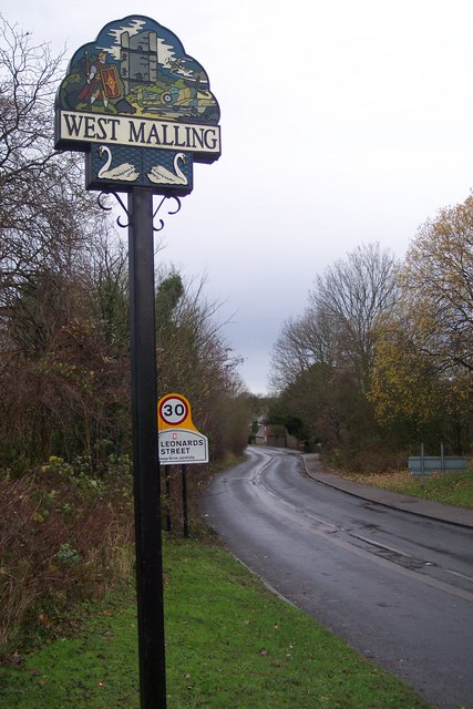 West Malling Village Sign