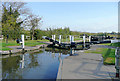 SK3729 : Swarkestone Lock, Trent and Mersey Canal, Derbyshire by Roger  Kidd