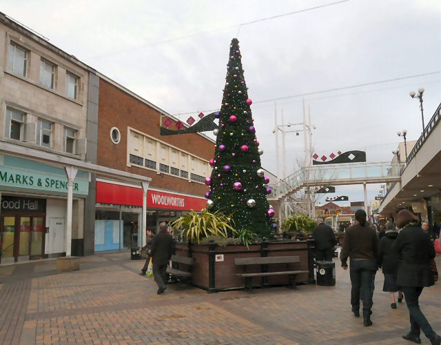Christmas In Merseyway © Gerald England Cc-by-sa/2.0