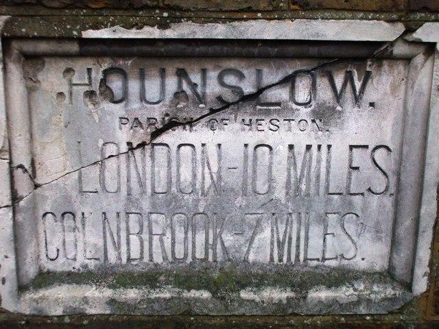 Hounslow milestone