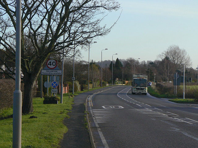 A606 at Tollerton