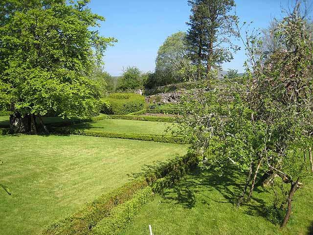 Garden above Lough Gill