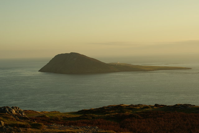 Bardsey island eve of a sunset