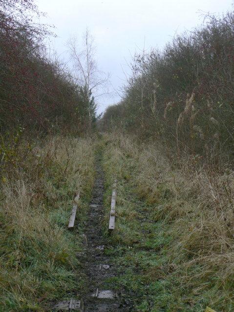 SK6337 : Former colliery railway