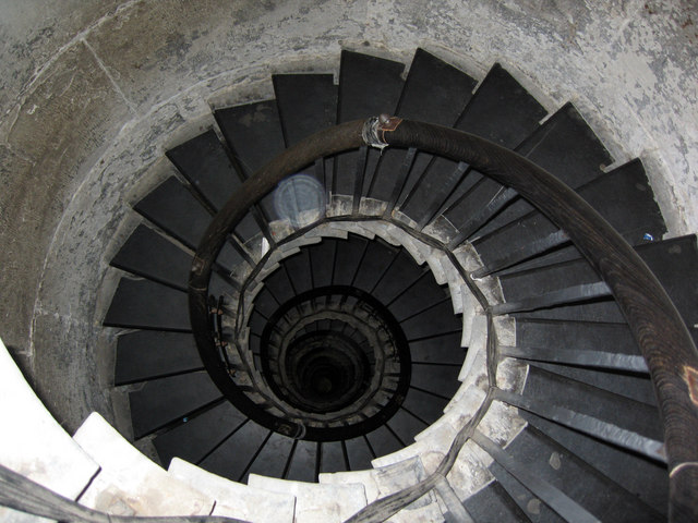 Spiral Staircase Of Monument Tower Oast House Archive Cc