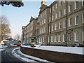 TQ3205 : Brighton General Hospital - snowscene by Paul Gillett