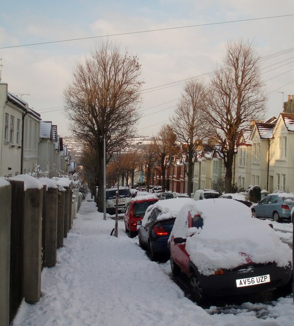 Bernard Road in the Snow
