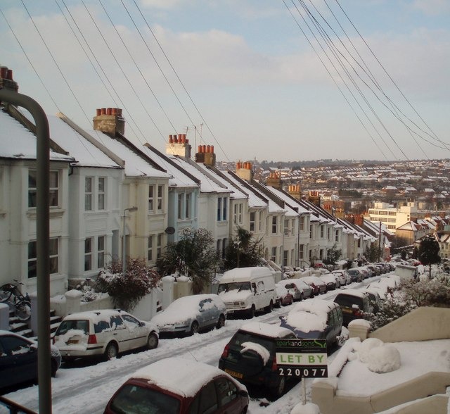 Snow in Bonchurch Road