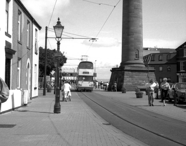 Tram in Pharos Street, Fleetwood