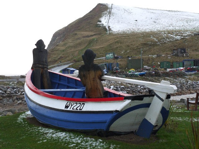 'Repus' fishing coble, Skinningrove
