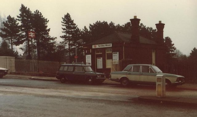 Cars That Start With B >> Yardley Wood Station © Michael Westley cc-by-sa/2.0 :: Geograph Britain and Ireland