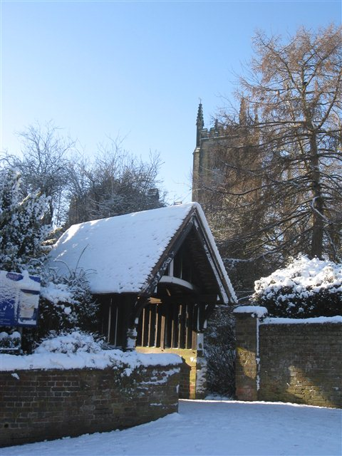 St Swithun's Church Lych Gate