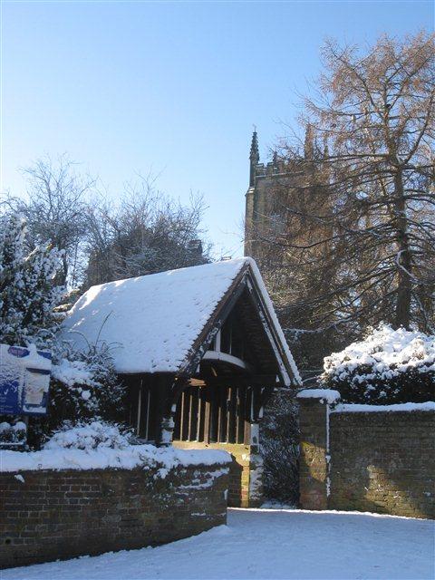 St Swithun's Church Lych Gate