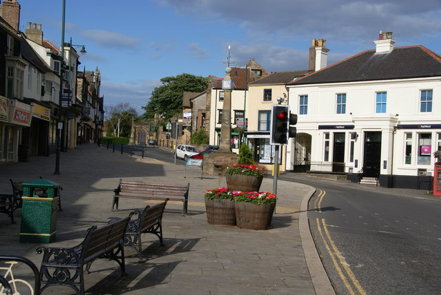 The market cross, Guisborough