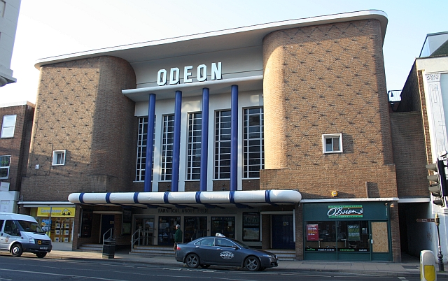 The Odeon cinema, Forgate Street, Worcester