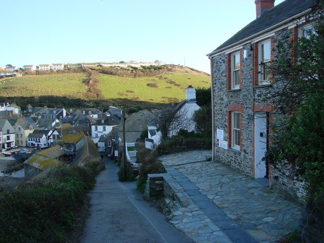Roscarrock Hill, Port Isaac