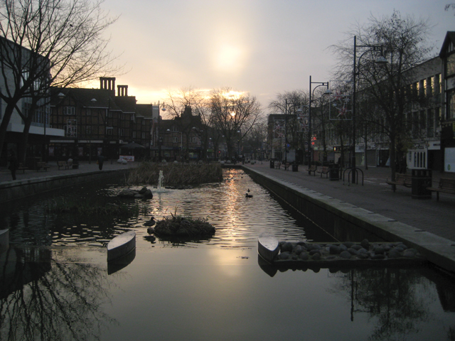 The Pond, Watford at dawn