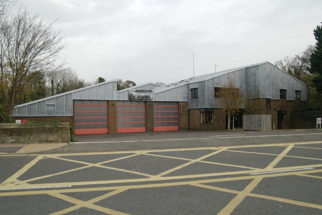 The Ridge (Hastings) fire station