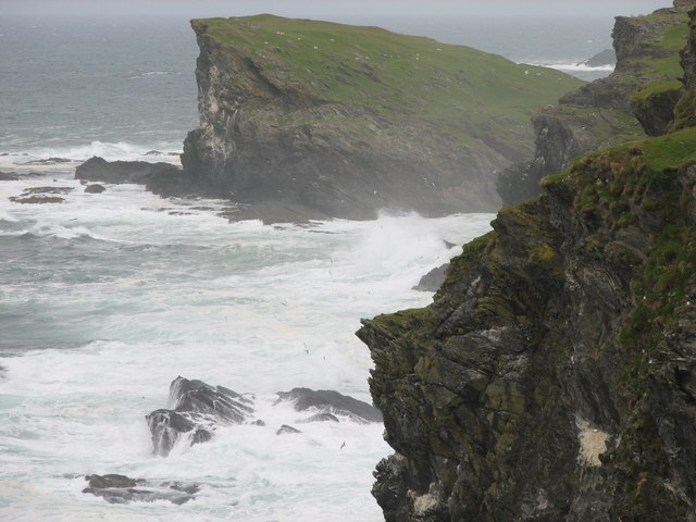 Meall Lamalum on the NW coast of Colonsay