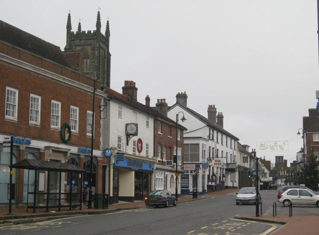 East Grinstead High Street