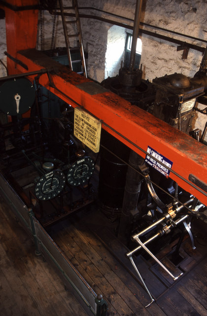Durham type steam winding engine, Beamish Museum