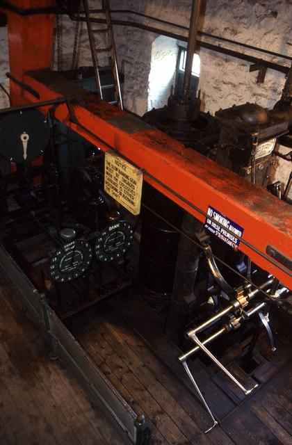 Durham type steam winding engine, Beamish Museum