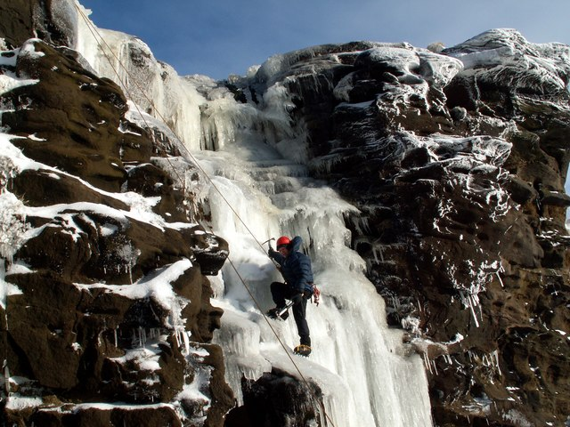 Ice Climbing almost there