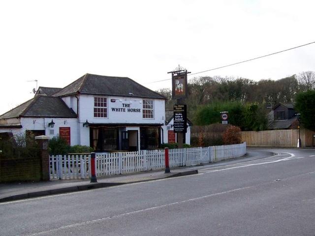 The White Horse Netley Marsh 169 Maigheach Gheal