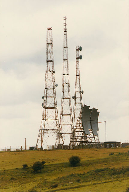 Swingate military telecommunication station
