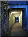 TQ3669 : Railway underpass, Beckenham by Stephen Craven