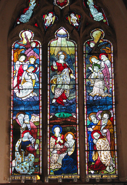 St Andrew's church - east window