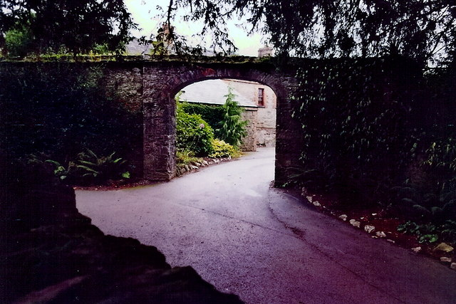 Blarney - Entrance to Blarney Castle stable yard