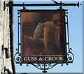 "ST6658 : 2009 : Sign of the ""Guss & Crook"" by Maurice Pullin"