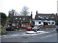 SP8118 : Five Elms Inn and cottage at Weedon by John Firth