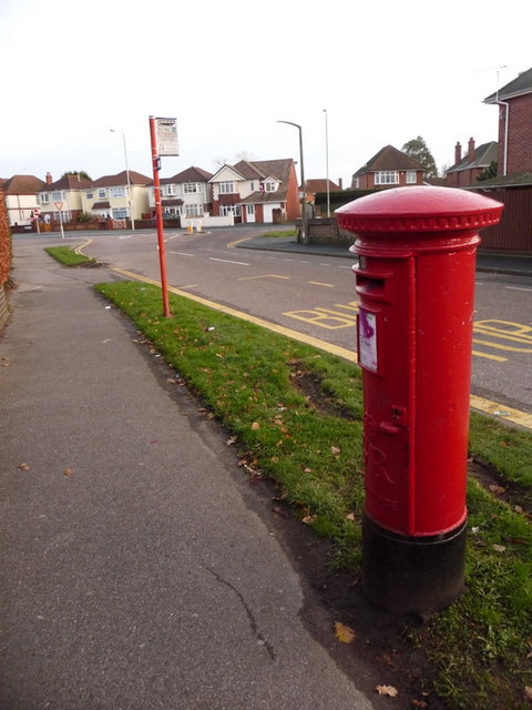 Stanley Green: postbox № BH15 176, Rectory Road