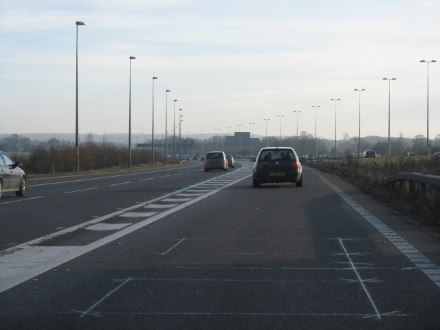 M6 At Junction 3a