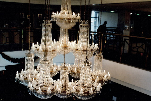 Waterford Crystal showroom chandelier