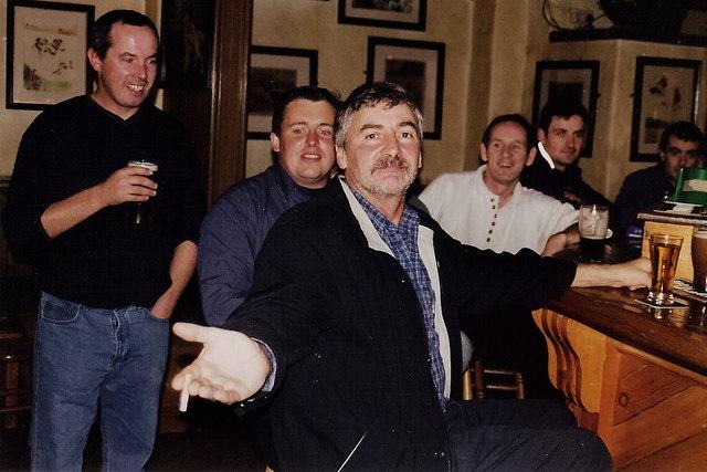 Gorey - Main Street - Quinn's Lounge patrons