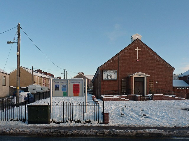 St Peter's Church, Aberbargoed