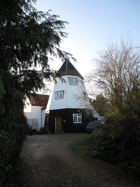Converted windmill