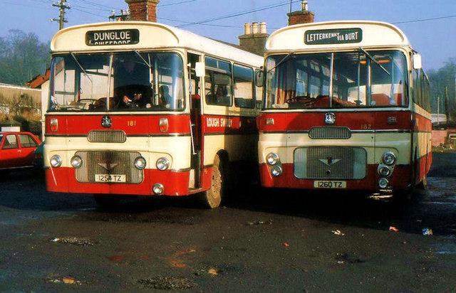 Swilly buses, Letterkenny