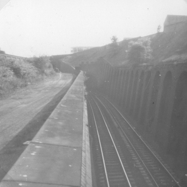 Trackbed and tunnels near Five Ways